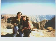 grandcanyon2.jpg; Philip & Enid in Grand Canyon